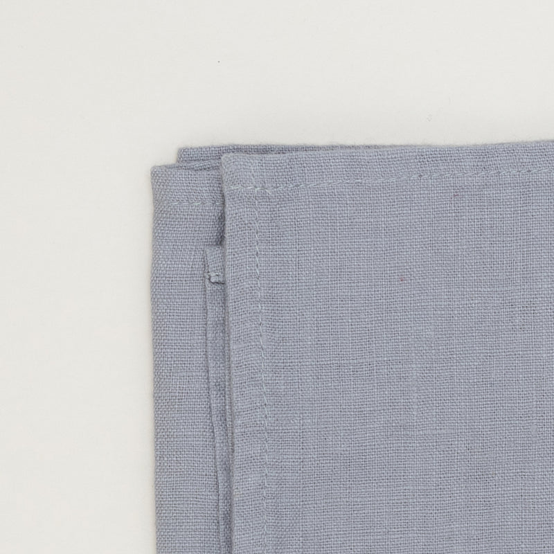 Light grey premium linen kitchen tea towel