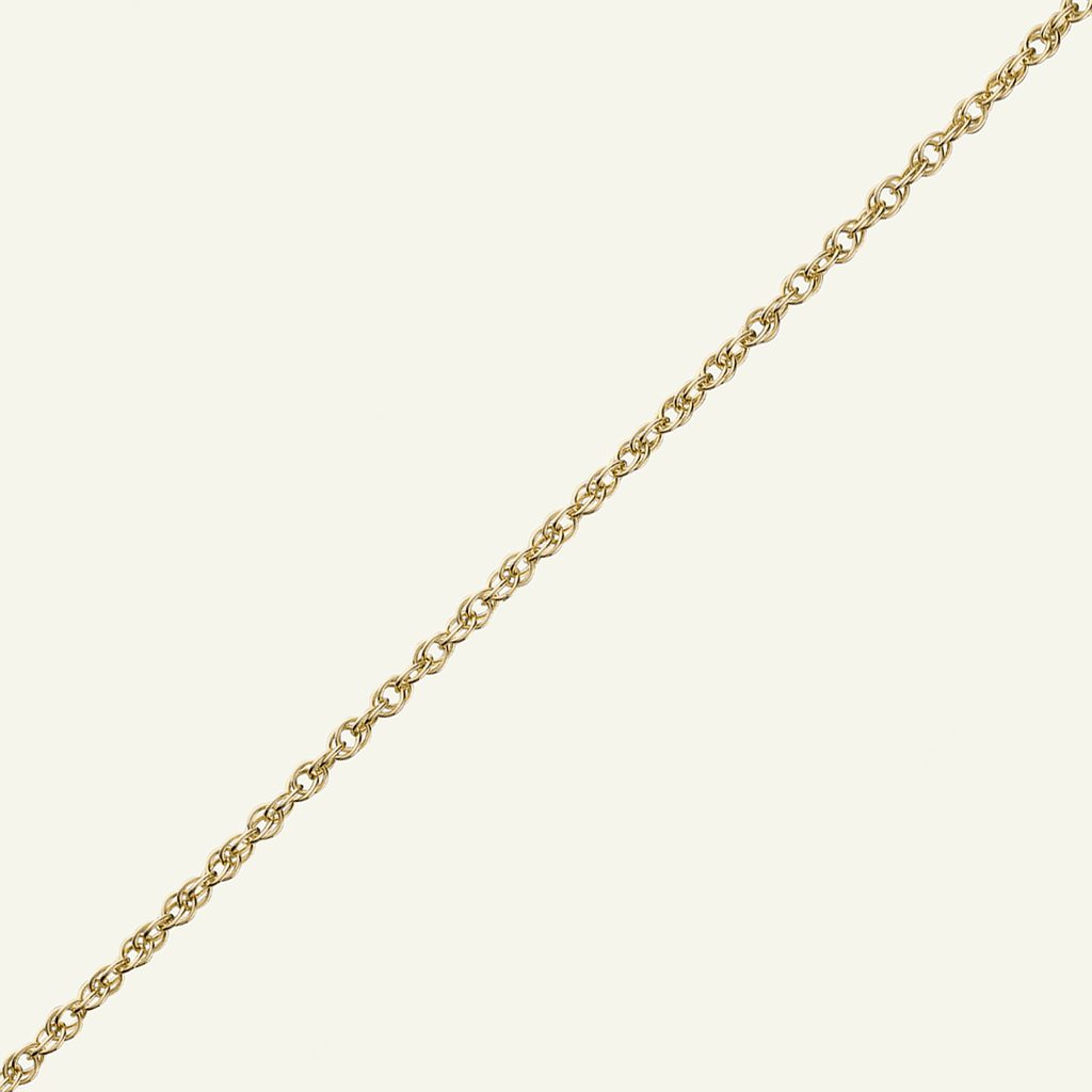 9 ct Gold Medium Rope Chain - The Locket Tree