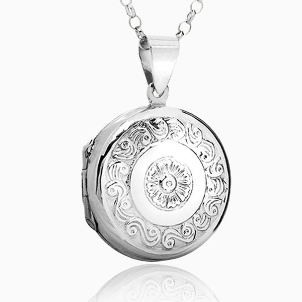 Product title: Round Sun Locket, product type: Locket