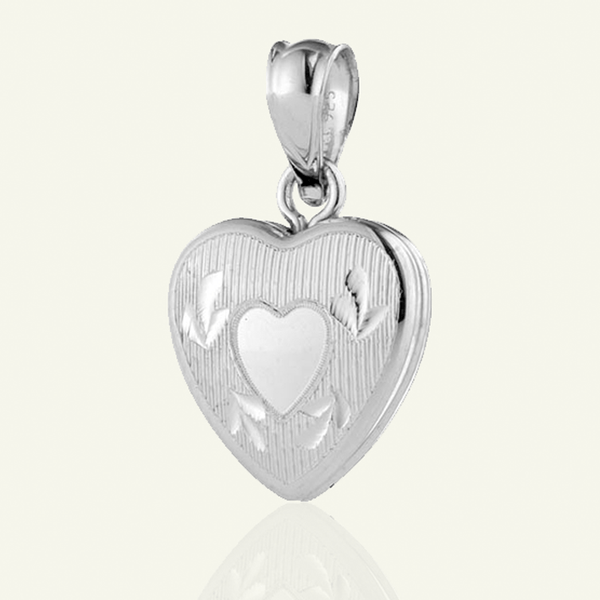 Dainty Heart Locket - The Locket Tree