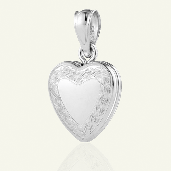 Dainty Heart Border Locket