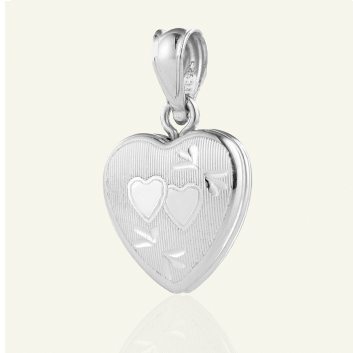 Petite Entwined Hearts Locket - The Locket Tree