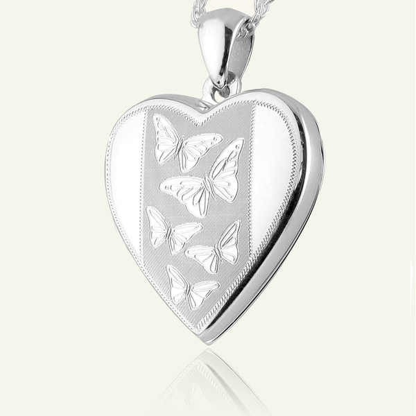 Dancing Butterflies Locket 21 mm - The Locket Tree