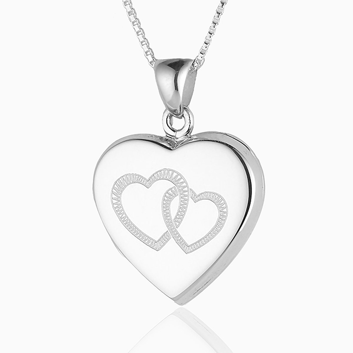 Product title: Entwined Hearts Locket, product type: Locket