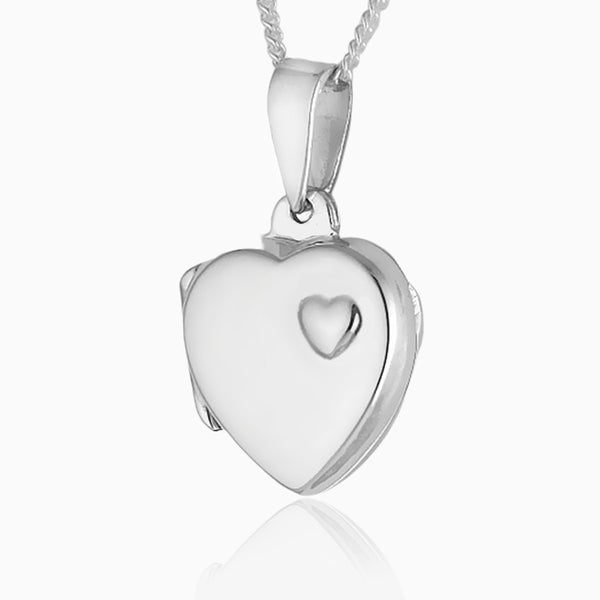 Product title: Heart Accent Locket, product type: Locket