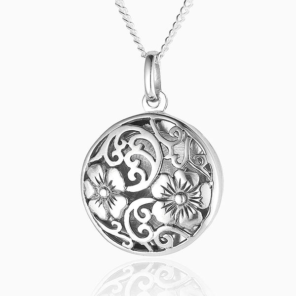 Flower Filigree Locket