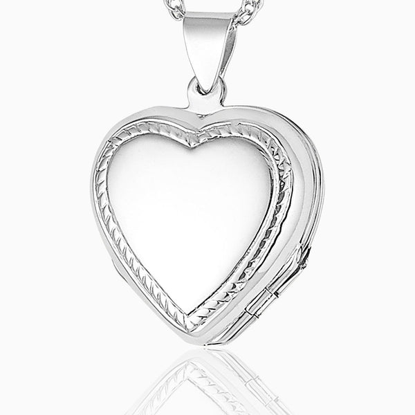 Product title: Silver 4-Photo Rope Twist Locket, product type: Locket
