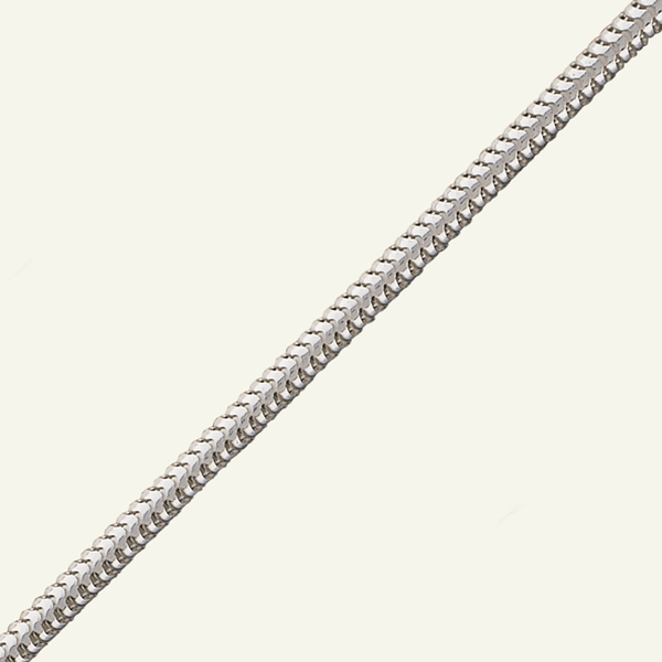 Product title: Medium Silver Brazilian Chain, product type: Chain