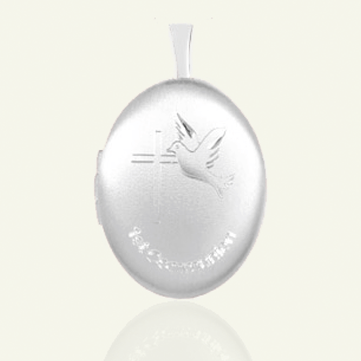 Product title: First Communion Locket 19 mm, product type: Locket