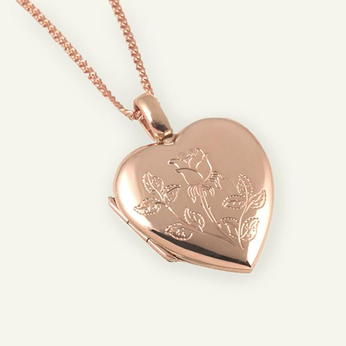 Rose for a Rose Locket - The Locket Tree