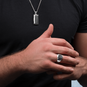 Product title: Premium Men's Signet Ring, product type: Ring