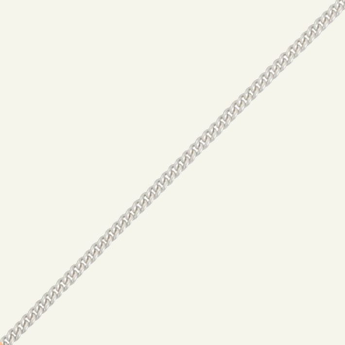 Product title: Heavy Silver Curb Chain, product type: Chain