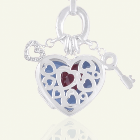 Key To My Heart Photo Locket - The Locket Tree