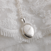 Silver Gran Locket 17 mm - The Locket Tree