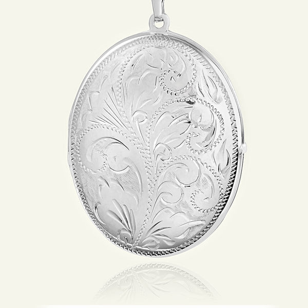 Extra Large Victorian Family Locket 35 mm