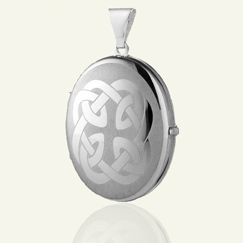 Celtic Family Vintage Locket - The Locket Tree
