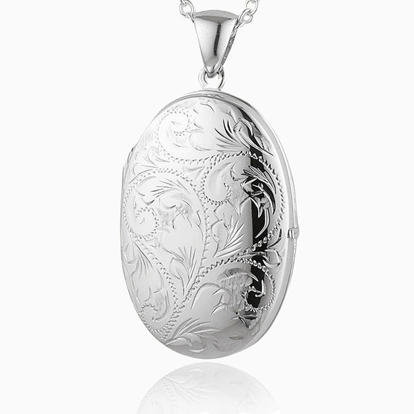 Product title: Large Victorian 4-Photo Locket, product type: Locket