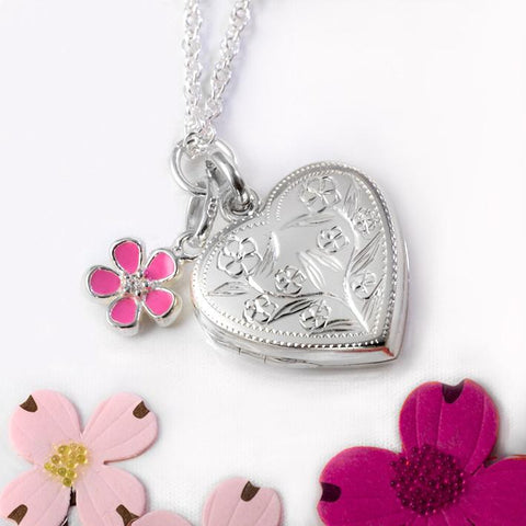 Garden Charm Locket - The Locket Tree