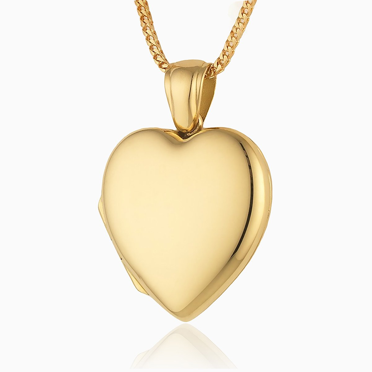 Product title: 18 ct Gold Heart, product type: Locket