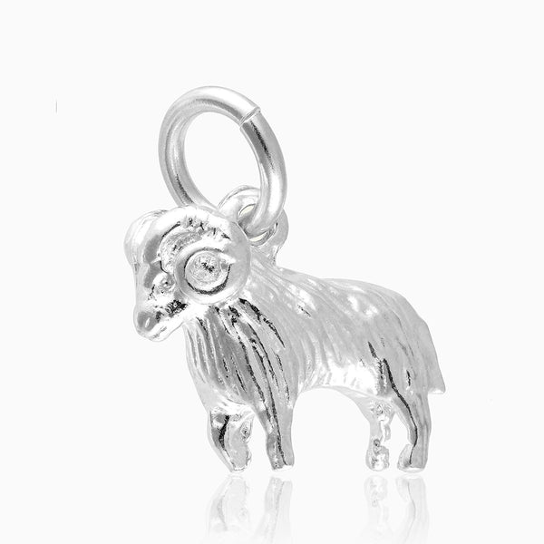 Product title: Aries Silver Charm, product type: Charm