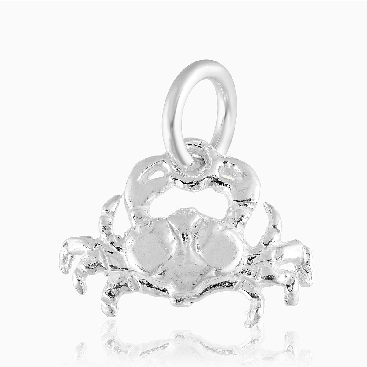 Product title: Cancer Silver Charm, product type: Charm