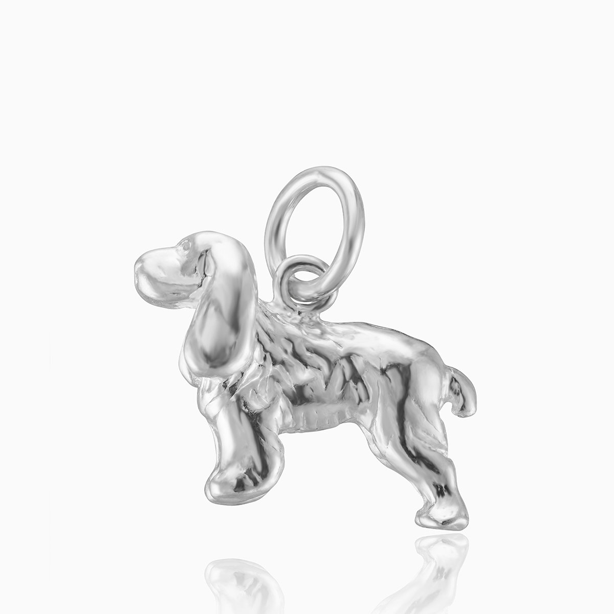 Product title: Silver Dog Charm, product type: Charm