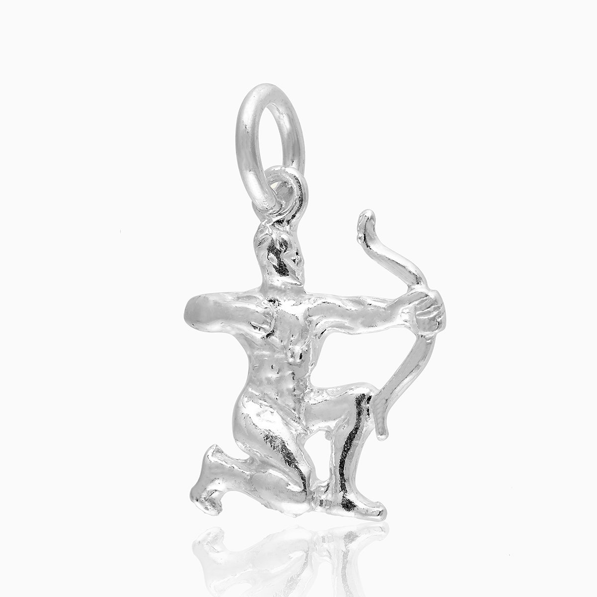 Product title: Sagittarius Silver Charm, product type: Charm