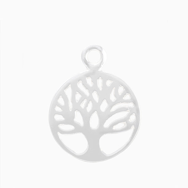 Product title: Tree of Life Silver Charm, product type: Charm