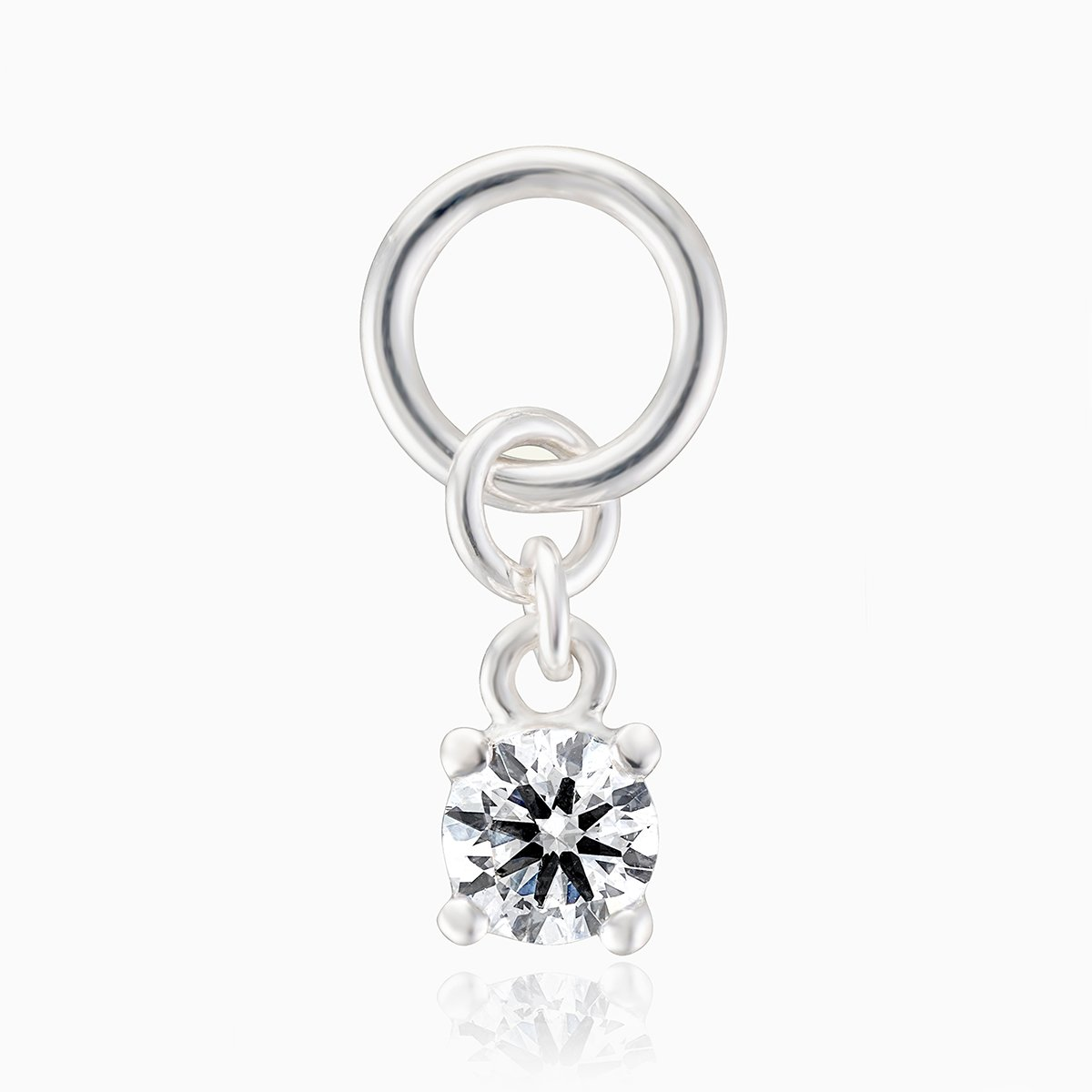 Product title: CZ Silver Charm, product type: Charm