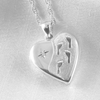 Footprints in the Sand Locket 21 mm - The Locket Tree