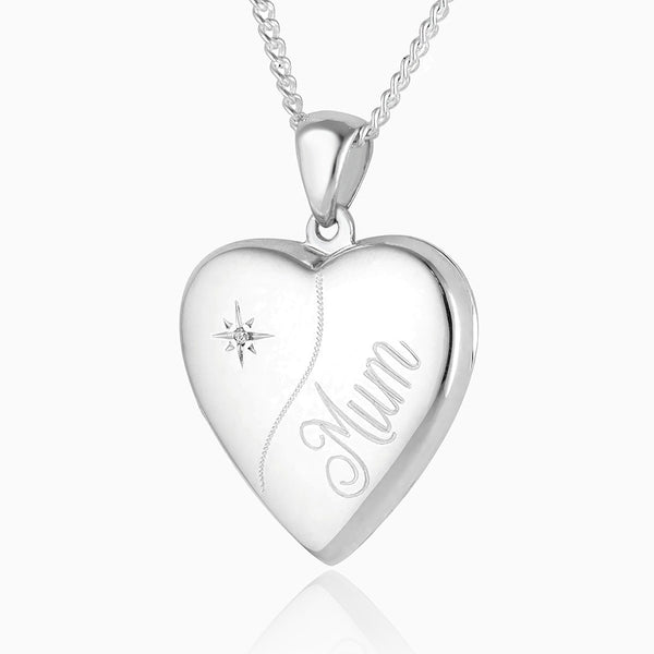 Product title: Diamond Mum Locket, product type: Locket