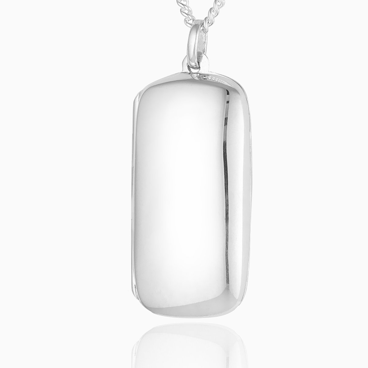 Product title: Plain Dogtag Locket, product type: Locket