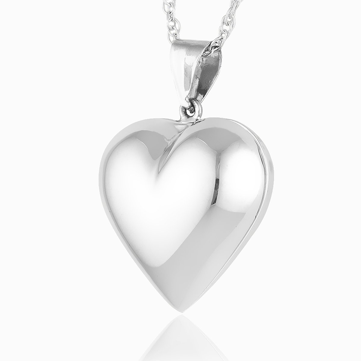 Puffy Heart Locket