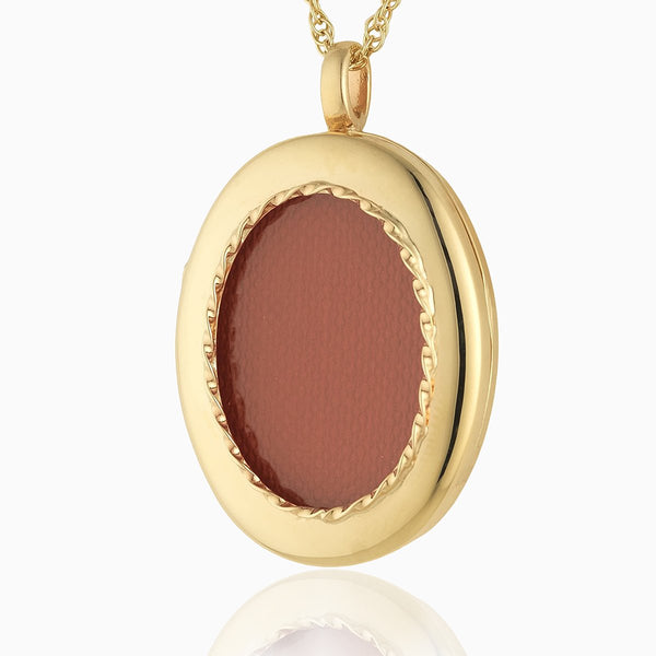 Product title: Handmade Gold 3-Compartment Locket, product type: Locket