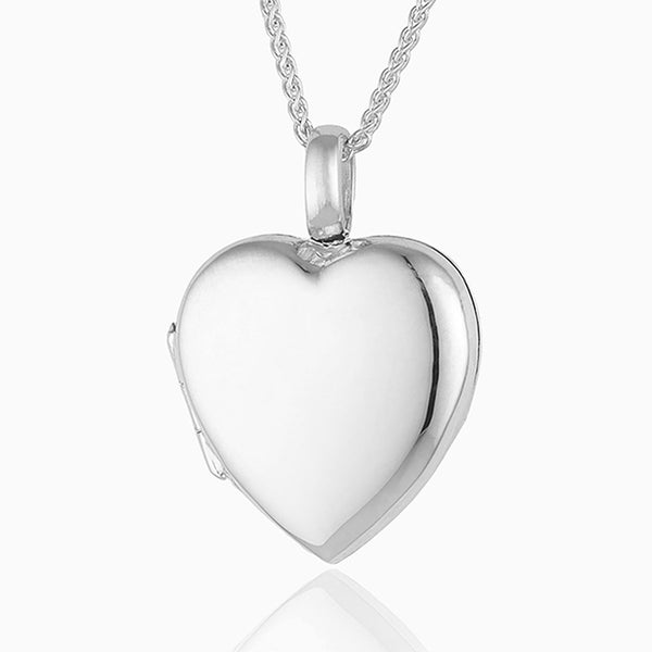 Product title: 18 ct White Gold Locket, product type: Locket