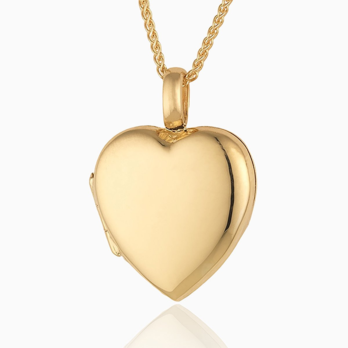 Product title: Handmade 18 ct Gold Heart, product type: Locket