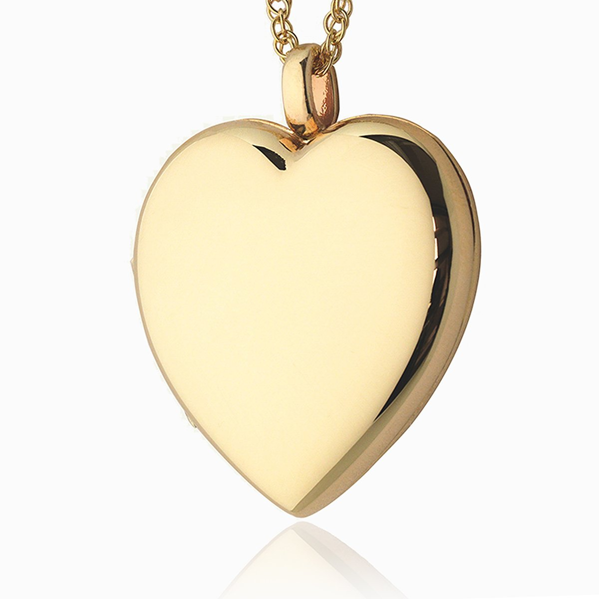Product title: Handmade Large Gold Family Locket, product type: Locket
