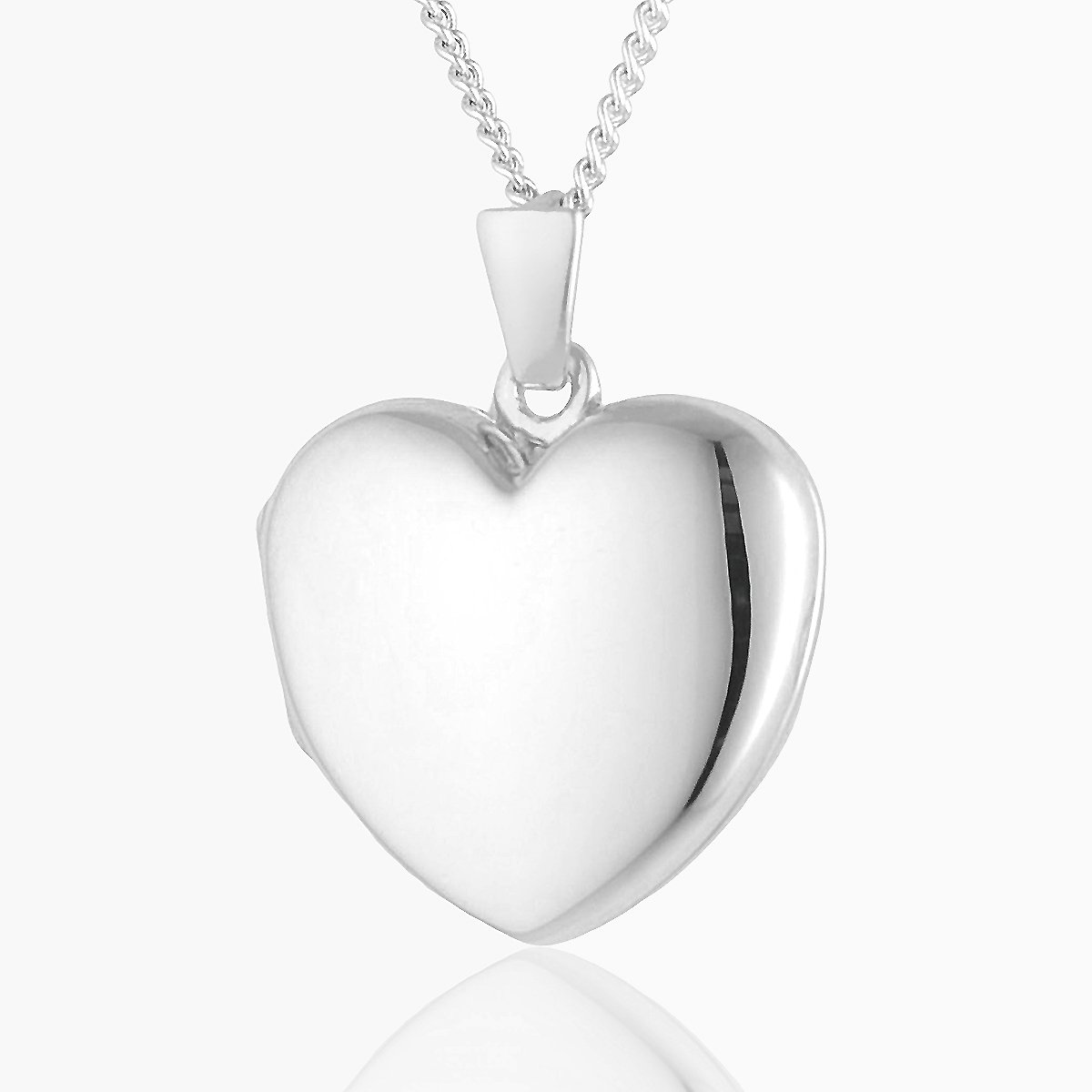 Product title: Premium Silver Heart Locket, product type: Locket