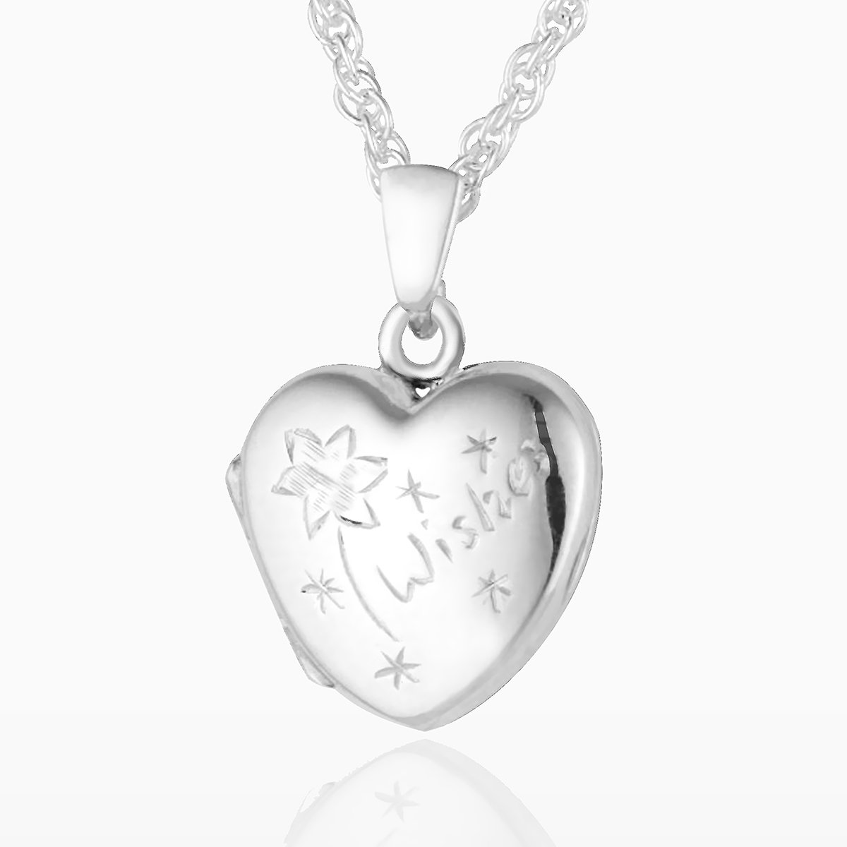 Product title: Silver Child's Wishes Locket, product type: Locket