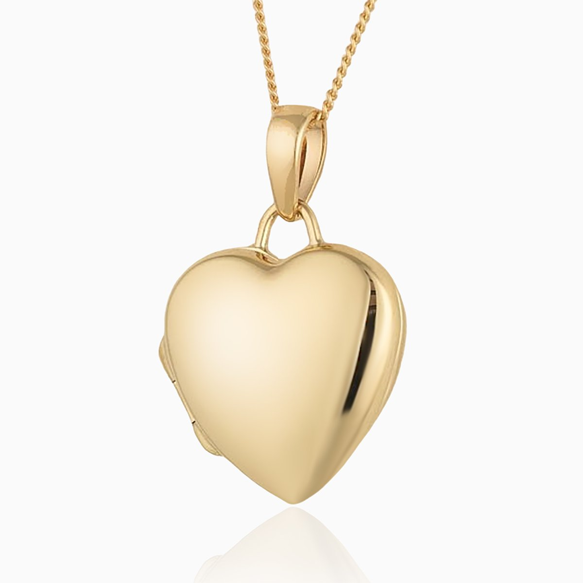 Product title: Petite Gold Heart, product type: Locket