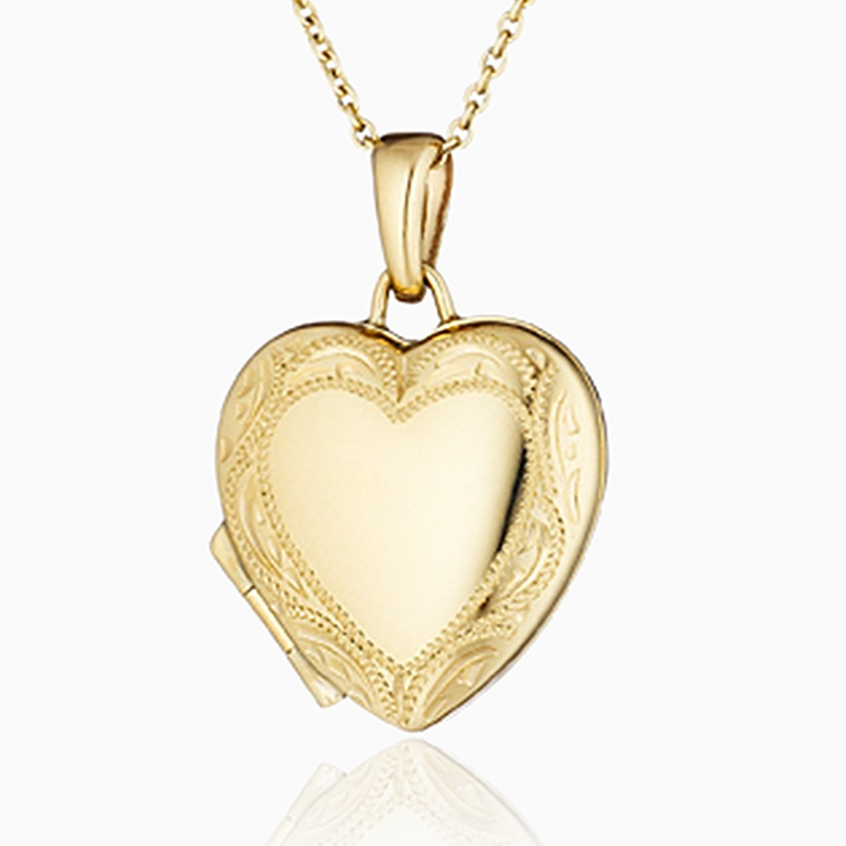 Product title: Gold Border Locket 18 mm, product type: Locket