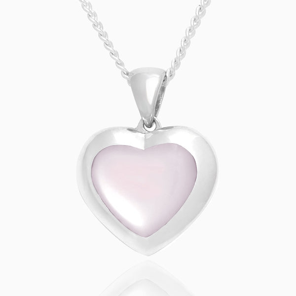 Product title: Petite Pink Mother of Pearl Locket, product type: Locket