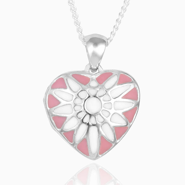 Product title: Dainty Pink Sunray Locket, product type: Locket