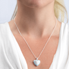 Dainty Blue Sunray Locket - The Locket Tree