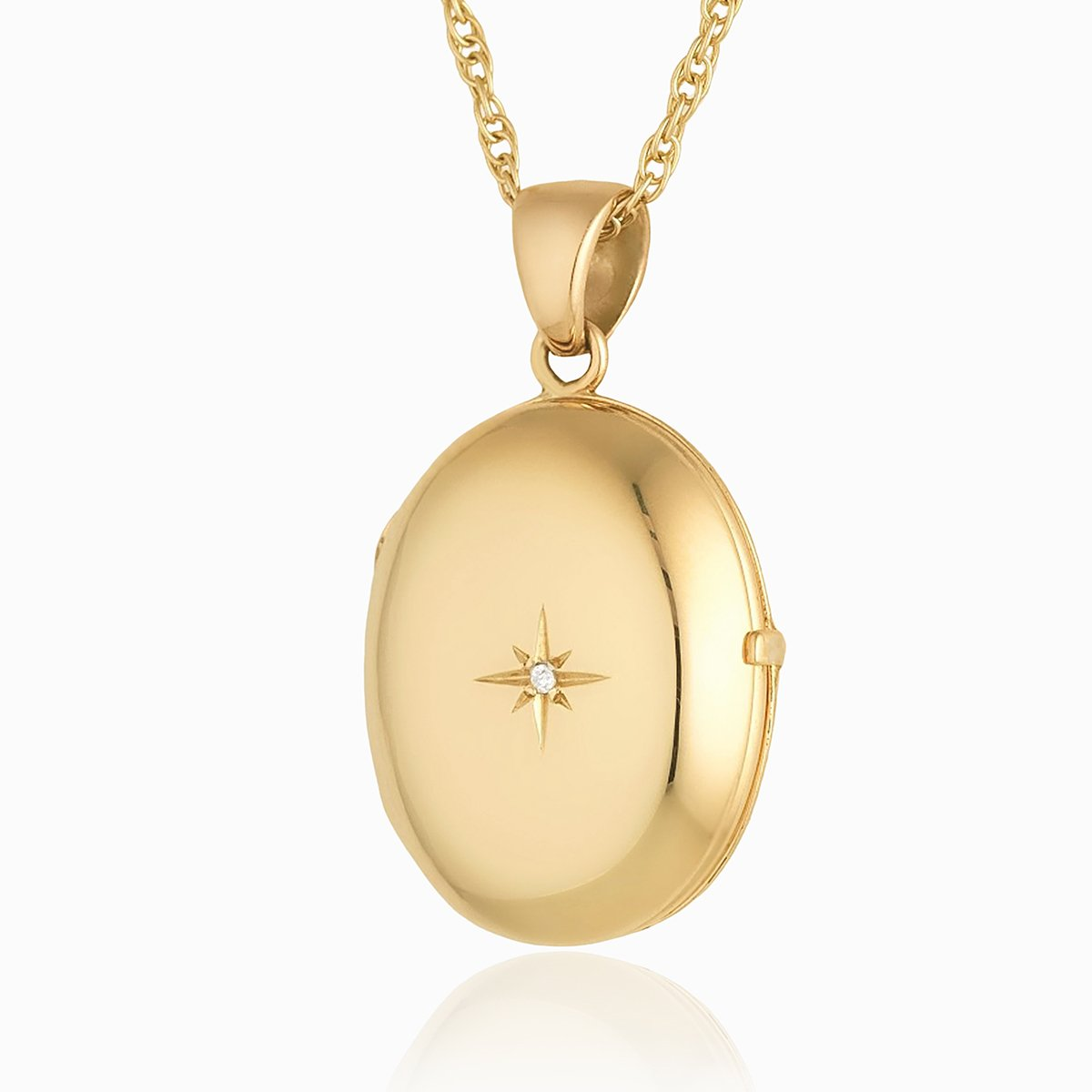Product title: Dainty Gold 4-Photo Locket, product type: Locket