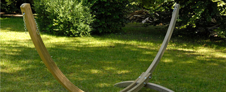 Hammock Stands - Wooden Stands