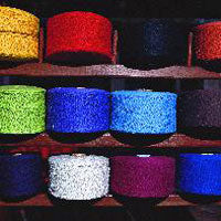 Colourful yarn for hammocks
