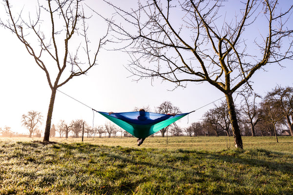 Amazonas Adventure Ice Blue Travel Hammock