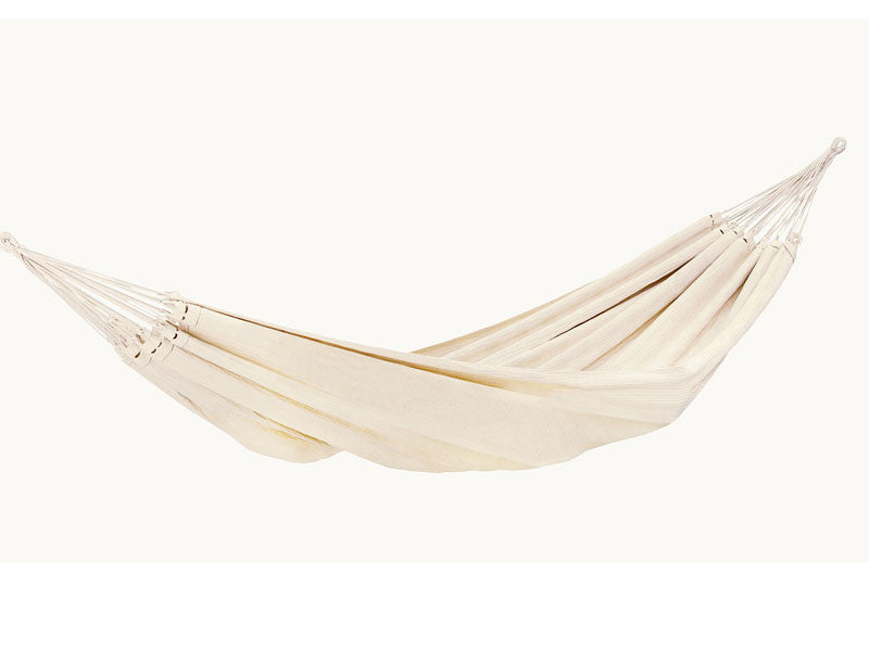 hanging empty barbados hammock in natura white amazonas family hammock with wood stand set   barbados   hammock barn  rh   hammockbarn co uk