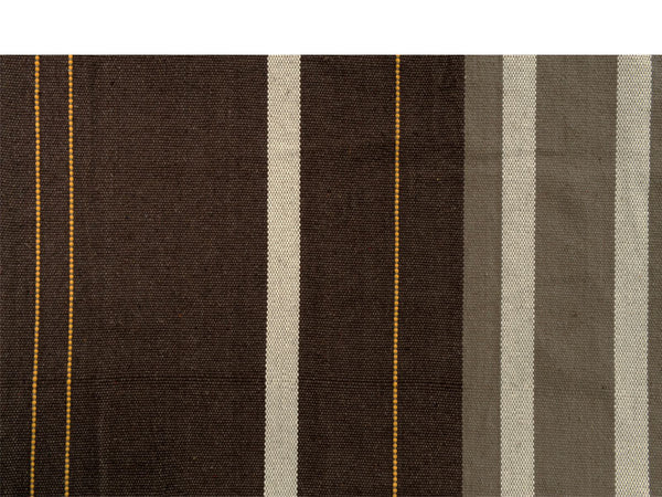 Swatch of Brasil Gigante Cafe Hammock Chair stripes.